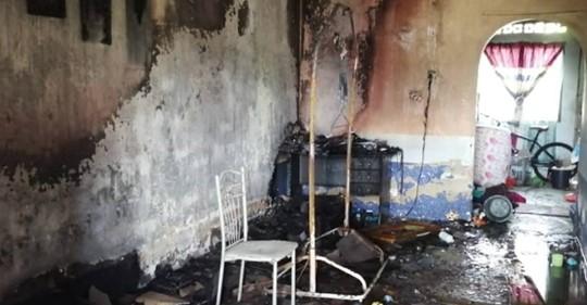 Bayi Maut Rumah Terbakar