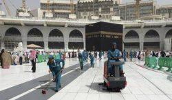 COVID-19: Arab Saudi Jalankan Kerja Pembersihan, Sterilisasi
