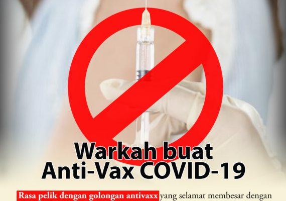 Warkah Buat Anti-Vax COVID-19