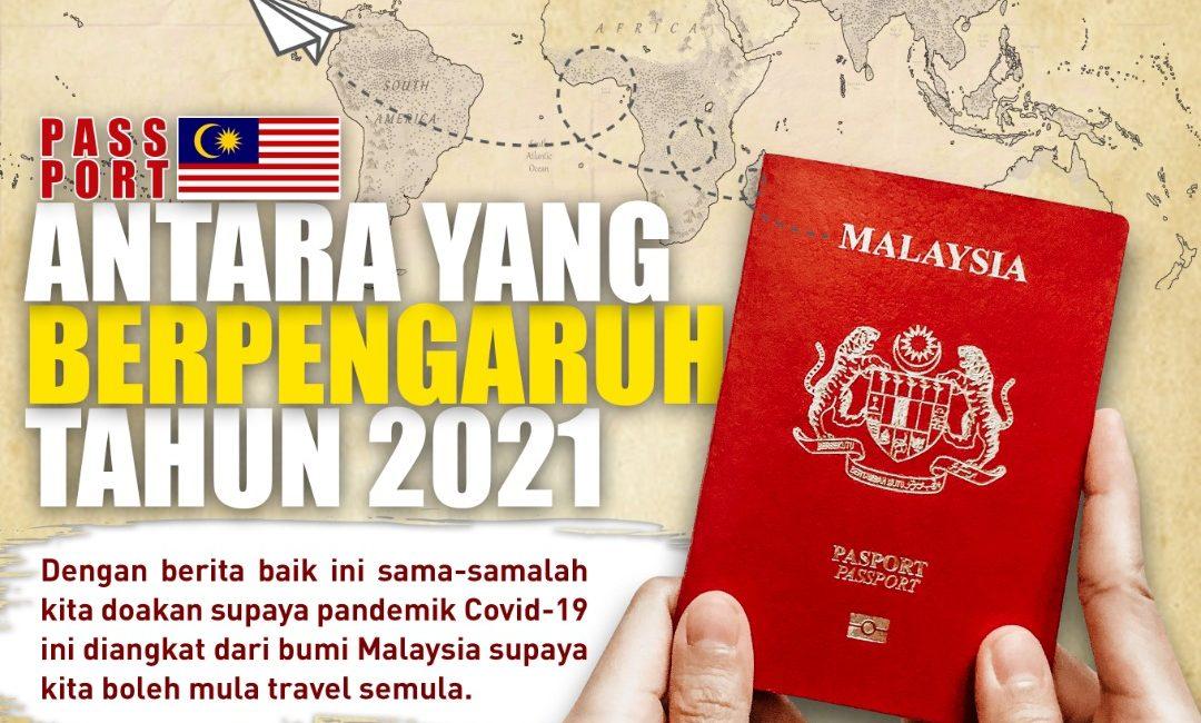 Passport Malaysia Melonjak Naik Lagi Antara Yang Berpengaruh Tahun Ini